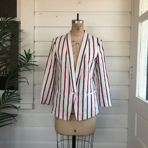 Club Monaco Joclynna Striped Blazer